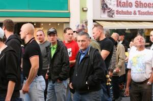 Alexander Christian neben Norbert Bichelhuber (im roten T-Shirt)