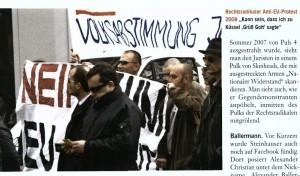 Anti-EU Demonstration, am 29. 3. 2008, Wien (Quelle: Profil Nr. 39, September 2010)