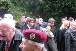 Alexander Christian beim Nowotny-Gedenken